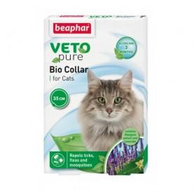 Beaphar Veto Pure Bio Collar for Cat /био противопаразитна каишка с репелентен ефект за коте/-35см