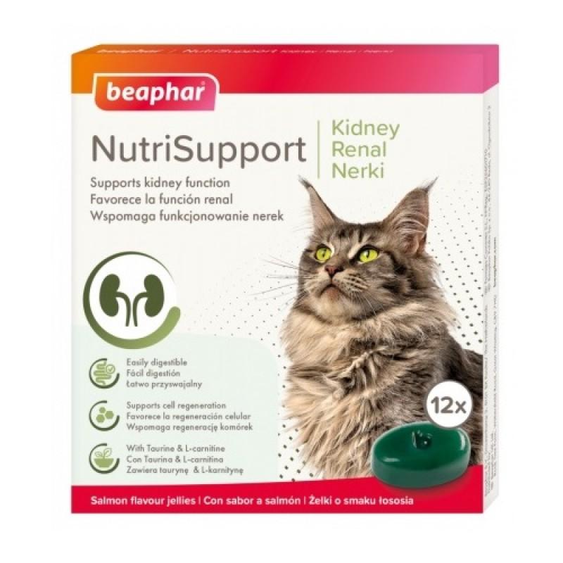 Beaphar® NutriSupport Kidney Cat /хранителна добавка за котки с бъбречни проблеми/-12бр