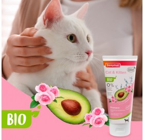 Beaphar BIO Cosmetic Cat Shampoo /Био Шампоан За Котки И Малки Котенца/-200мл