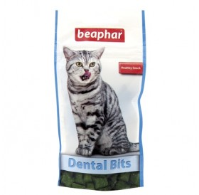 Beaphar Cat A Dent Bits /добавка към храната за чисти и здрави зъби/-35гр