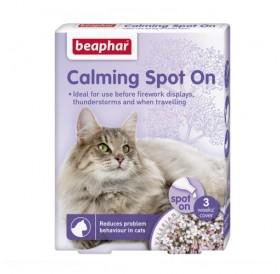 Beaphar Calming Spot On Cat /успокояващи пипети за котки/-3бр