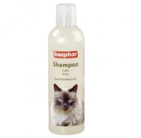 Beaphar Cat Shampoo Macadamia Oil /шампоан  за котки с Макадамия/-250мл