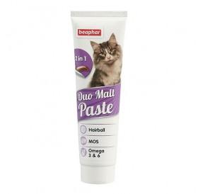 Beaphar Duo-Malt Paste /малцова паста за котки против образуване на космени топки в стомаха/-100гр