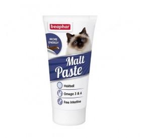 Beaphar Malt Paste /малцова паста за котки против образуване на космени топки в стомаха/-25гр
