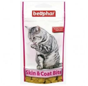 Beaphar Skin & Coat Bits /хрупкави хапки за красива и здрава кожа и козина, плюс малцова паста/-35гр