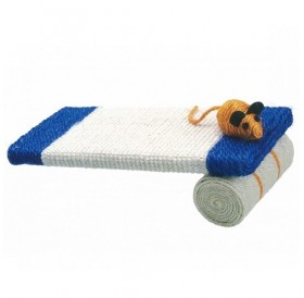 Camon Scratching Board with Roll /котешка драскалка/-35x15см