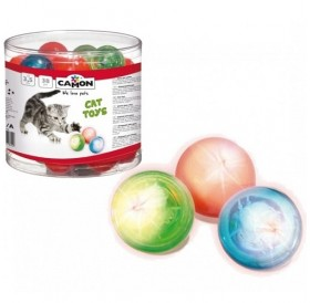 Camon Flashing Ball for Cat /светещо топче (гладко)/-Ø3,8см