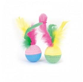 Camon Feather Sponge Ball /дунапренови топчета с пера/-2бр