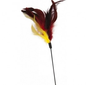 Camon® Play Rod with Feather Duster /играчка за коте въдица с пера/-80см