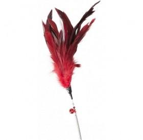 Camon® Play Rod with Spring /играчка за коте въдица с пера/-60см