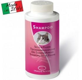 Ingenya Dry Shampoo Powder /сух шампоан във вид на пудра за котки/-150гр
