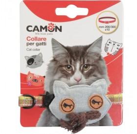 Camon Decorated Cat Collar /Текстилен Нашийник За Котка/-1x30см