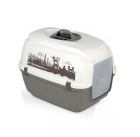 Camon® Nova /закрита котешка тоалетна с филтър/-40x50x40,5см