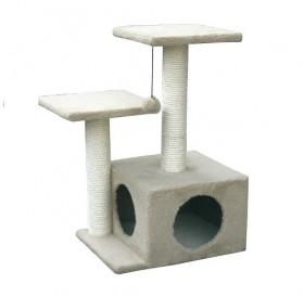 Croci Cat Scraper Sammy /драскалка с катерушка и къща/-45х35х70см