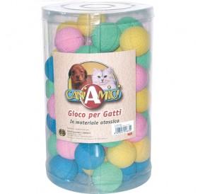 Croci Ball Palla Piuma /играчка за котка топка дунапрен/-Ø5см