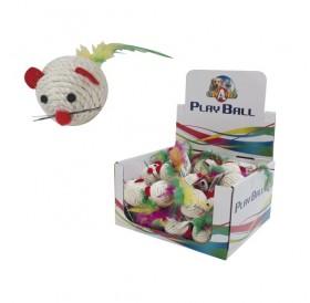 Croci Mouse Rio /сезалена мишка с пера/-4.5см