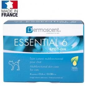 Dermoscent® Essential 6® spot-on for Cats /пипети за мулти-функционална грижа за кожата за котки/-4бр