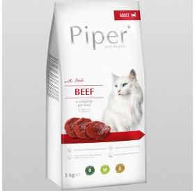 Piper Animals Cat Adult Whit Beef /Храна За Израснали Котки С Говеждо Месо/-3кг