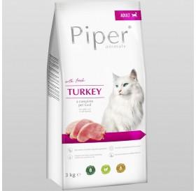 Piper Animals Cat Adult Whit Turkey /Храна За Израснали Котки С Пуешко Месо/-3кг