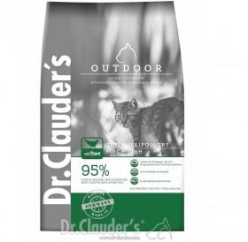 Dr.Clauder's High Premium Outdoor /Храна За Израснали Котки Живеещи Изцяло На Открито/-1,5кг