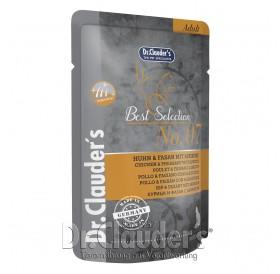 Dr.Clauder's Best Selection №7 Adult Chicken&Pheasant with Apricot /храна за израснали котки с пиле,фазан и кайсия/-85гр