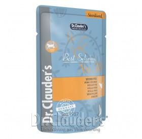 Dr.Clauder's Best Selection Sterilised №30 Adult Pure Chicken /храна за кастрирани котки с пилешко/-85гр