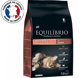 Equilíbrio Adult Cats Preference with Salmon /храна за израснали котки с месо от сьомга/-7,5кг