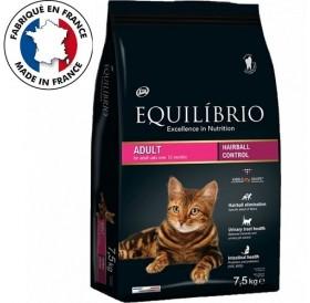Equilíbrio Adult Hairball Control /храна за израснали котки за естествено отделяне на космените топки/-7,5кг