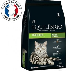 Equilíbrio Adult Sterilised Cats Weight Cantrol /храна за израснали котки след кастрация/-7,5кг