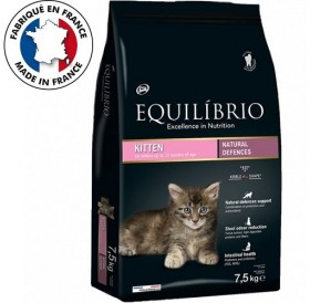 Equilíbrio Kitten Natural Defences /храна за подрастващи котенца и за бременни кърмещи котки/-7,5кг