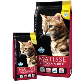 Matisse Chicken&Rice /храна за израснали котки с пилешко месо и ориз/-400гр