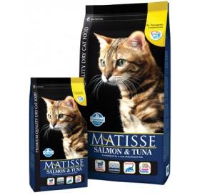 Matisse Salmon&Tuna /храна за израснали котки със сьомга и риба тон/-400гр