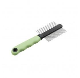 Ferplast GRO 5792 Cat Comb with Chrome Teeth /двустранен метален гребен/