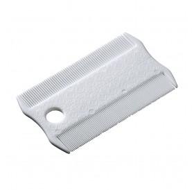Ferplast GRO 5836 Flea Comb /Двустранен Пластмасов Гребен За Премахване На Бълхи/-8,5x5,2см