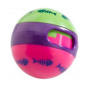 Ferplast PA 5216 /играчка за коте топка с механизъм за пускане на лакомства/-Ø7см