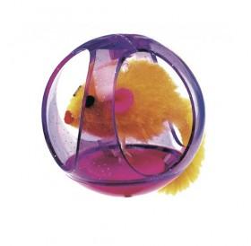 Ferplast PA 5214 /играчка за коте топка с мишка/-Ø6,5см