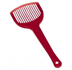 Ferplast FPI 5352 Hygienic Scoop /пластмасова лопатка (плоска) за почистване на котешка тоалетна/-10,4х27,5см