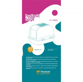 Ferplast FPI 5363 /торбички за котешка тоалетна Maxi Bella/Maxi Bella Cabrio/-10бр