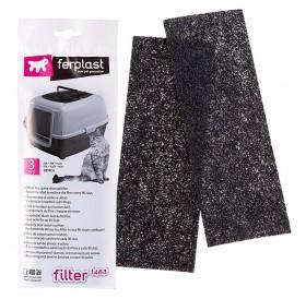Ferplast L 483 /карбонови филтри за закрита котешка тоалетна Genica/-3бр