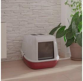 Ferplast Magix /закрита котешка тоалетна с филтър/-55,5x45,5x41см