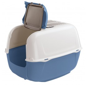 Ferplast Prima Cabrio /закрита котешка тоалетна с фитър/-39,5x52,5x38см