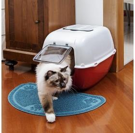 Ferplast Prima /закрита котешка тоалетна с фитър/-39,5x52,5x38см