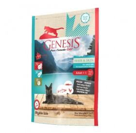Genesis Pure Canada - My blue lake Hair&Skin /храна за израснали котки за красива кожа и козина/-340гр