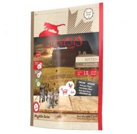 Genesis Pure Canada - My little farm Kitten /храна за подрастващи котенца бременни и кърмещи котки/-340гр