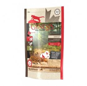 Genesis Pure Canada - My wild forest Adult /храна за израснали котки с месо от дивеч/-340гр