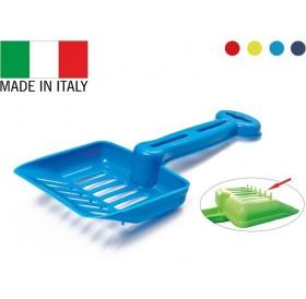 Georplast Benna /пластмасова лопатка (с борд) за почистване на котешка тоалетна/-10x26см