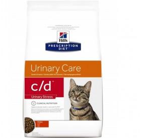 Hill's Prescription Diet™ c/d™ Feline Urinary Stress With Chicken /Диета За Котки Страдащи От Идиопатичен Цистит И Профилактика На Уролити/-400гр