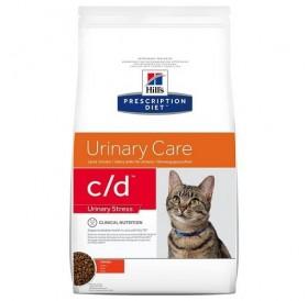 Hill's Prescription Diet™ c/d™ Feline Urinary Stress with Chicken /диетична храна за котки страдащи от идиопатичен цистит и профилактика на уролити/-0,4кг