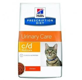 Hill's Prescription Diet™ c/d™ Multicare Feline with Chicken /диетична храна за котки спомагаща при лечението на долния уринарен тракт/-0,4кг
