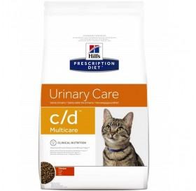 Hill's Prescription Diet™ c/d™ Multicare Feline With Chicken /Диета За Котки Спомагаща При Лечението На Долния Уринарен Тракт/-400гр
